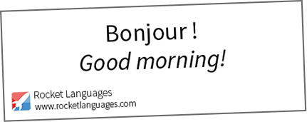 How To Say In French Good Morning Archidev
